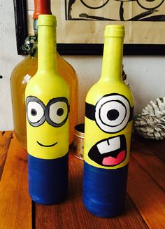 Wijnfles minion