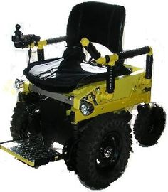 4X4 WHEELCHAIR built by the Wheelchairconversions.com>>> See it. Believe it. Do it. Watch thousands of spinal cord injury videos at SPINALpedia.com