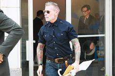Fashion + Tats + SilverFox= Fashionista