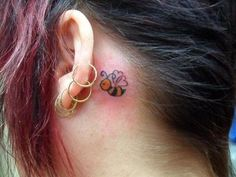 Bee tattoo inspiration! Closest thing I've found to what I want my bumble bee to look like : )