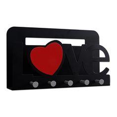 Porta - Chaves e Correspondências LOVE Coração