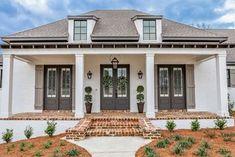 Brick House Plans, Ranch House Plans, Cottage House Plans, Craftsman House Plans, Cottage Homes, Acadian House Plans, Brick Houses, Lowcountry House Plans, White House Plans