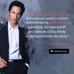 Kiedy masz ciężki czas w życiu… Thoughts And Feelings, Good Thoughts, Book Quotes, Life Quotes, Motivational Quotes, Inspirational Quotes, Saint Quotes, Life Motto, Keanu Reeves