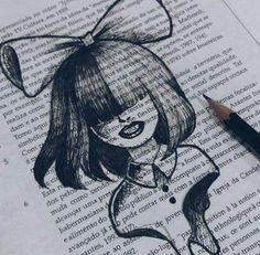 28 Ideas for music painting artworks artists Creepy Drawings, Dark Art Drawings, Pencil Art Drawings, Creepy Sketches, Girl Drawing Sketches, Art Drawings Sketches Simple, Easy Drawings, Drawing Drawing, Art Sketchbook