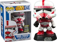 Funko POP! Movies Star Wars Shock Trooper 2015 Galactic Convention Logo RARE!!! Follow @2stime