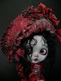"A Splendid Ugliness: ""Solanita Vampirica"" custom Blythe doll by Julien Martinez"