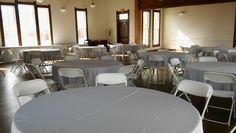 Wedding reception at the Historical Presbyterian Church in Sanger Texas