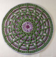 Ravelry: Mandala in Overlay Crochet pattern by CAROcreated design