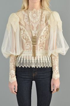 d88d088827bf5d 103 Best Lace Blouse | Lace Blouses images in 2017 | Casual outfits ...
