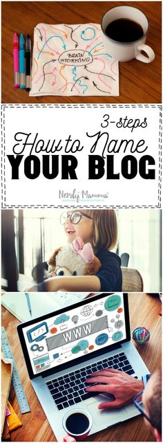 I love this advice on how to name your blog. So simple--but exactly what I needed to hear.
