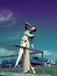 """The Sun's Origin"" SS'11 fashion collection // KRAKORA"