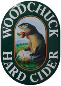 """Love me some woodchuck cider - someday when I own my own house and build my """"Beaver den"""" (rather than a man cave) I would like this to be hanging on the wall."""