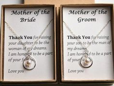 Set of 2 Mother of the bride-mother of the groom-Silver infinity necklaces-gifts for moms-Mother wedding fit-Mother in law-Wedding Jewelry Set Mutter der Braut-Mutter des Bräutigams-Silber Wedding Gifts For Bride And Groom, Mother Of The Groom Gifts, Gifts For Wedding Party, Mother Gifts, Gifts For Mom, Parent Wedding Gifts, Grooms Mother Gift, Bride Groom, Mother Wedding Gifts