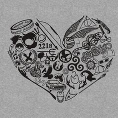 That would be a great tattoo, A Fangirl heart