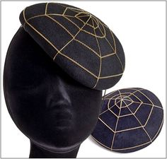 Charlotte's Web Beret from Charlotte Olympia
