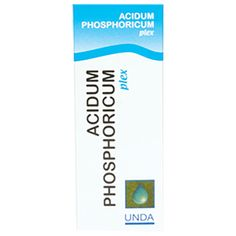 Acidum Phosphoricum Plex 30 mlEmerson Item CodeACID7Vendor Item Code18520-30UIn stock and ready to shipItem DescriptionBy UndaHomeopathic. Established over half a century ago in Belgium, UNDA is renowned for manufacturing exceptional homeopathic products utilized in supporting immune, lymphatic and endocrine systems to properly process and eliminate toxins from the body. In the production of all homeopathic remedies UNDA uses only pure materials and herbs that are biodynamically gro