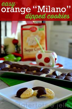 Milano cookies, Cookies and Homemade on Pinterest