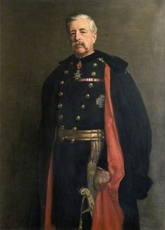 The Athenaeum - Major General M. W. E. Gossett (John Maler Collier - No dates listed)