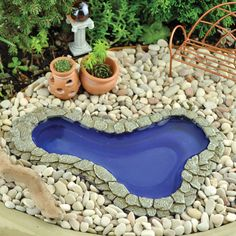 fairy gardens ponds | Garden Pond Medium
