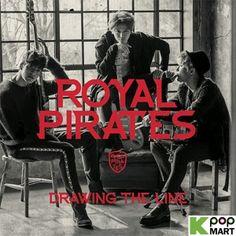 Royal Pirates 'Drawing The Line' Mini Album $13.90