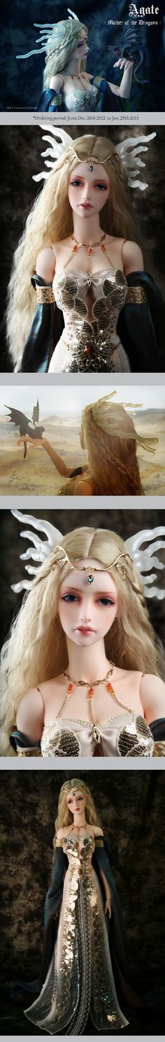the SOOM emporium Agate - Mother of the Dragons #bjd