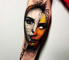 Daenerys tattoo by Rich Harris