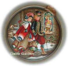 トールペイント : Tolepaint Daisy Garden