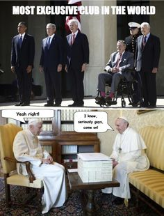 Catholic Memes (The Most Exclusive Club in the World)