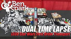 LEGO Star Wars First Order Transport Simultaneous Dual Build TimeLapse  While at Philly #BRICKFEST LIVE I built two LEGO Star Wars sets at the same time. I then took my Samsung Gear 360 to record a Timelapse of the build.    Thanks for watching!  Please ****SUBSCRIBE****  Check out my second channel, Big DAMN Kid over at http://www.youtube.com/c/BigDamnKid   I am a co-host on SteamDads http://www.steamdads.com  I am a guest host often on Built From Bricks http://youtube.builtfrombricks.com…