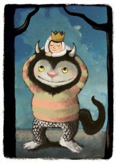 "Wild Things  (5/8/12)    It's a very sad day.. Maurice Sendak has passed away.  :(   My favorite author ""Where The Wild Things Are"""