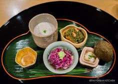 Taian, a 3-Michelin star restaurant in Osaka specializes in seafood and grilled meats, all beautifully presented.