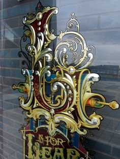 L is for Lear – The Nonsence Alphabet, Knowsley, Liverpool « David Smith – Traditional Ornamental Glass Artist