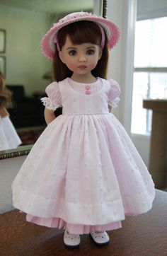 Finished a New Dress and Hat Today - Discussion Forum - Our Little Darlings