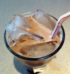 """""""Perfect Iced Coffee""""-instead of spending money on coffee drinks at the school cafe."""