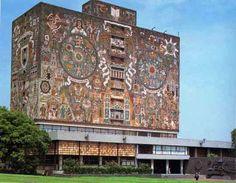 UNAM Library, Mexico City