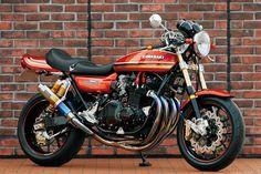 ϟ Hell Kustom ϟ: Kawasaki Z1 By Bull Dock