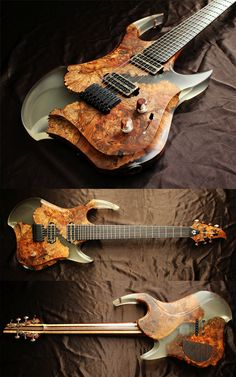 Hand-made custom electric guitar  #guitar #music