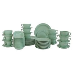 Check out this item at One Kings Lane! Camp Ware Dishes, 60 Pcs
