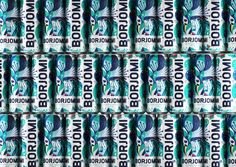 Georgian mineral water brand Borjomi likes taking on new challenges, applying fresh approaches and daring solutions in its ongoing efforts to evolve as a brand and reinvent its package design and advertising campaigns. Water Packaging, Water Branding, Beverage Packaging, Label Design, Package Design, Graphic Design, Design Agency, Branding Design, Mineral Water Brands