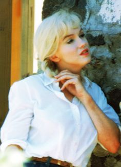 Marilyn  on the set of The Misfits (1961)