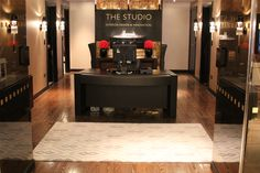 Supper at The Studio Harrods - Rug by The Rug Company