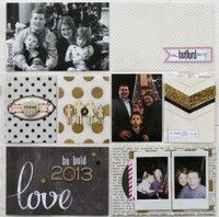 A Project by scrappygirljenni from our Scrapbooking Gallery originally submitted 01/01/13 at 12:20 PM