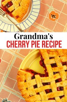 If you like cherry pie you're gonna love my Grandma's recipe that we've used over and over again. It's easy, and everyone loves it. You can use whatever filling your family prefers anyway you slice it this is a pie that won't last long.  #Recipe #CherryPie