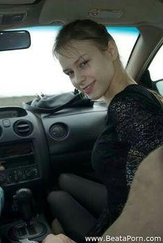 Teen blowjob car