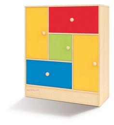 segurbaby.mueble aula arco iris mobiliario escolar