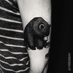 little bear tattoo instagram.com/dvuhzerkalcev/