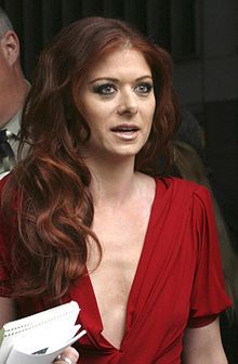 Debra Messing, though she'd need to dye her hair blonde. Brooklyn, Longest Marriage, Debra Messing, Hollywood Lights, Hair Flow, New York, Natural Looks, Famous Faces, Hair Inspiration