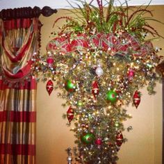 Upside down tree. By Kristina's floral creations