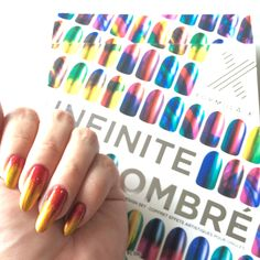 Infinite ombre nail look by Missnur on the #Sephora Beauty Board