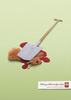 Caritas: Squirrel. Protect your child's room from violence. Media tips for parents: www.caritas.de